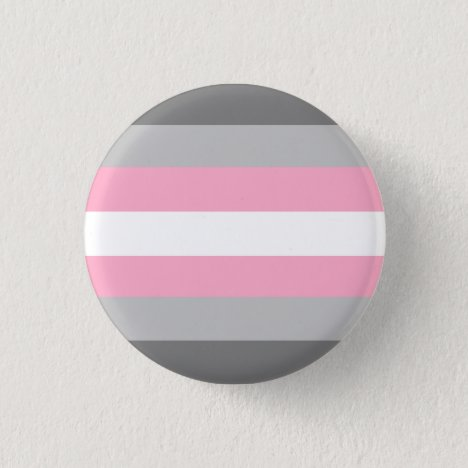 Demigirl Pride Flag Badge Button