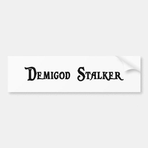 Demigod Stalker Sticker Car Bumper Sticker