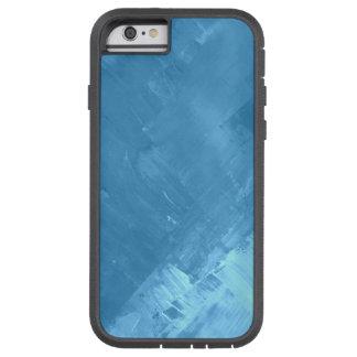 Demin Blue Jean Color Hip Faux Paint Splash 2 Tough Xtreme iPhone 6 Case