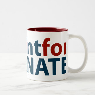 DeMint for US Senate Two-Tone Coffee Mug