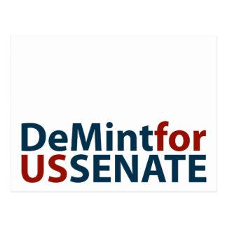 DeMint para el senado de los E.E.U.U. Postal