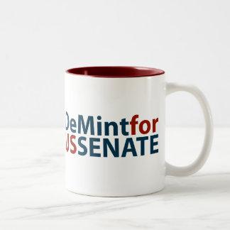 DeMint para el senado de los E.E.U.U. Taza Dos Tonos