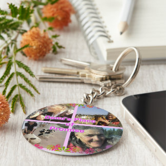 Demi's Place of Promise Basic Round Button Keychain