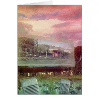 Demise of the Drive-in Theatres Card