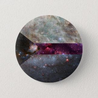 Demisexual nebula flag pin