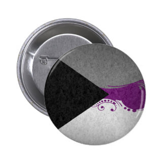 Demisexual Ornamental Flag Button