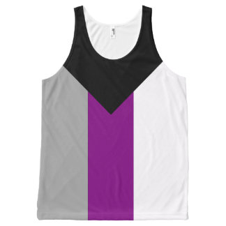 Demisexual Pride All-Over-Print Tank Top