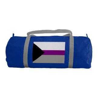 DEMISEXUAL PRIDE FLAG GYM DUFFEL BAG