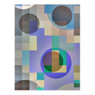Demo Abstract - ( color variation ) Postcard