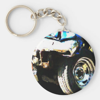 Demo Derby Car Keychain