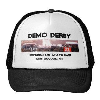 DEMO DERBY trucker hat by baird duschatko