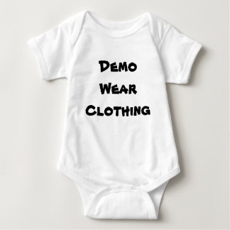 Demo Wear Baby Bodysuit