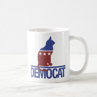 Democat funny cat