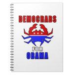 Democrabs para Obama Libreta