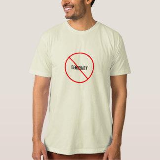 democracia anti, cita de Lysander Spooner Camisas