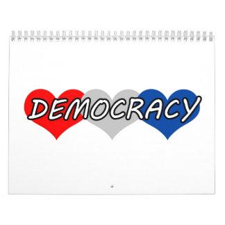 Democracia Calendario