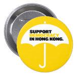 Democracia de la ayuda en Hong Kong Pins