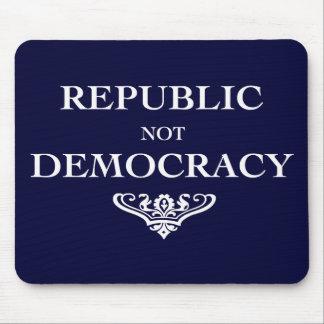 Democracia de la república no alfombrilla de ratón