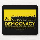 Democracia Mousepad Alfombrilla De Raton