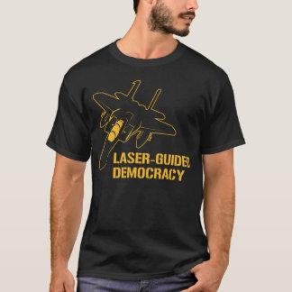 Democracia/paz dirigidas por laser con potencia de playera