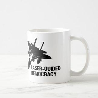 Democracia/paz dirigidas por laser con potencia de taza de café