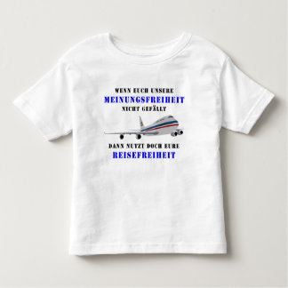 Democracy and liberty of opinion toddler t-shirt
