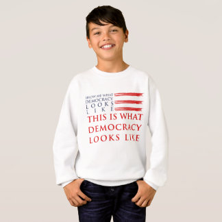 Democracy Boy's Sweatshirt