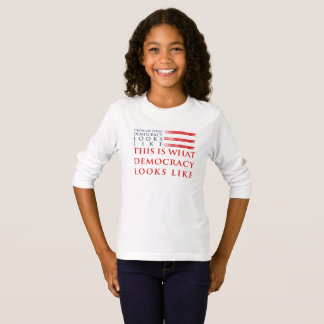 Democracy Girl's Long Sleeve T-Shirt