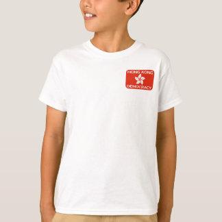 Democracy Hong Kong Flag T-Shirt