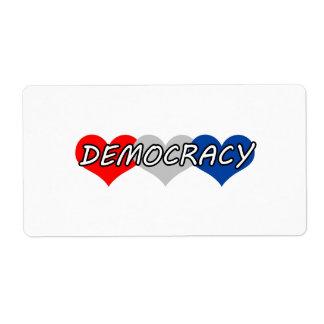 Democracy Label