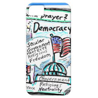 Democracy over Theocracy iPhone SE/5/5s Case