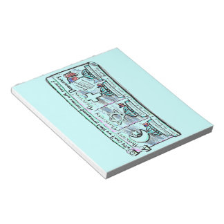Democracy over Theocracy Memo Note Pads