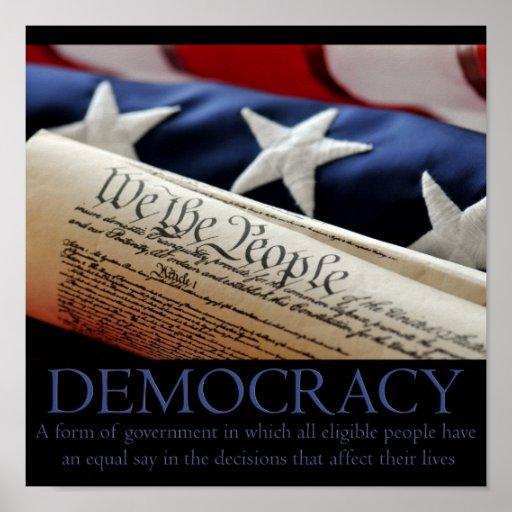 Democracy Poster