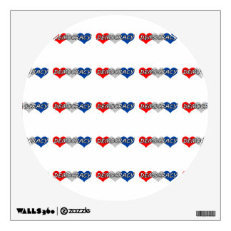 Democracy Wall Decal