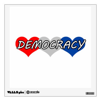 Democracy Wall Sticker