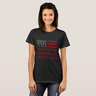 Democracy Women's Basic Dark T-Shirt