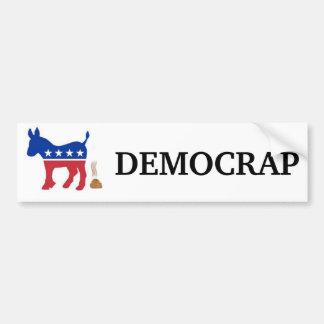 DEMOCRAP Bumper Sticker