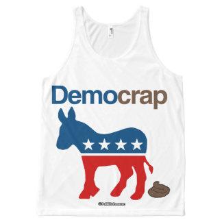 DEMOCRAP- - Politiclothes Humor -.png All-Over Print Tank Top