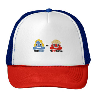 Democrap vs. Repooblican Trucker Hat