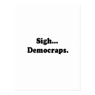 democraps postcard