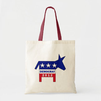 DEMOCRAT 2012 TOTE BAG