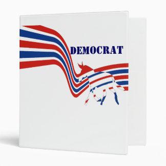 Democrat 3 Ring Binder