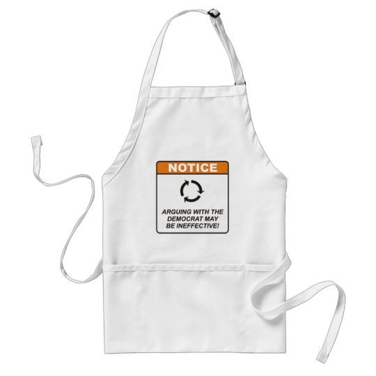 Democrat / Argue Adult Apron