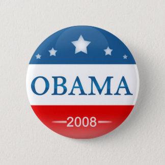 Democrat Barack Obama 2008 Pinback Button