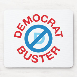 Democrat Buster Mouse Pad