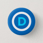 "Democrat Button<br><div class=""desc"">Democrat Button by DemocratSpark</div>"