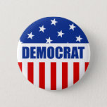 """Democrat Button<br><div class=""""desc"""">Democrat Button  Customizable Background.   Choose the background color you want by clicking Customize it - Edit - Background.</div>"""