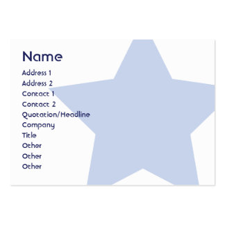 Democrat - Chubby Large Business Cards (Pack Of 100)