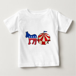 Democrat Circus Donkey Baby T-Shirt