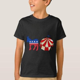 Democrat Circus Donkey T-Shirt